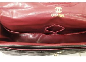 Chanel 2.55 Lambskin Bag Double Flap Black for women style for Sale in Alexandria, VA