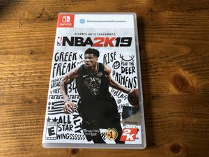 NBA 2K19 - Nintendo Switch for Sale in Issaquah, WA