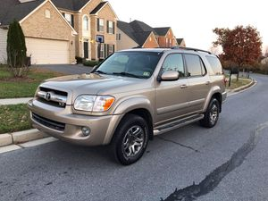 2006 Toyota Seqouia Limited 4WD for Sale in Hyattsville, MD