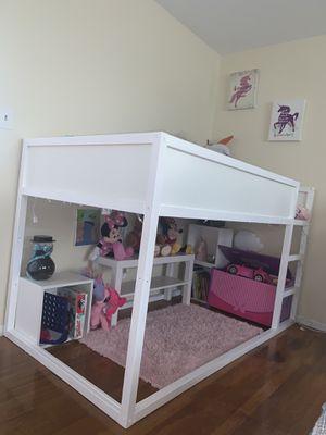 Twin loft bed for Sale in Paterson, NJ
