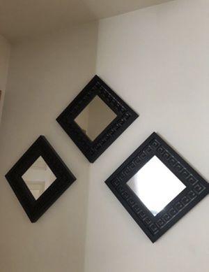 3pc wall mirror for Sale in Lynnwood, WA