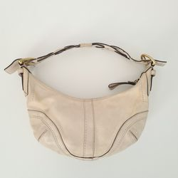 Coach Small Leather Hobo Bag Creme C06S-10042 for Sale in St. Petersburg,  FL