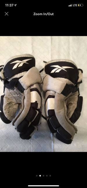 Size 8 lacrosse gloves . SHIPPING ONLY for Sale in Brentwood, NY