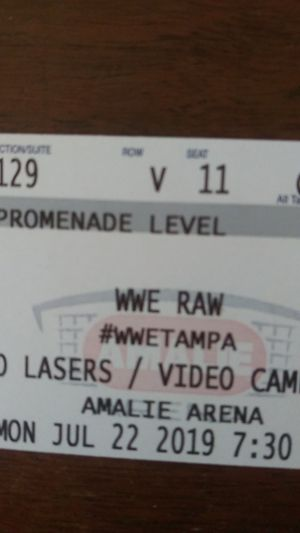 WWE Monday Night Raw $85 for Sale in Tampa, FL