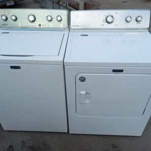 Maytag washer and dryer. Excellent conditions. 60 days warranty. #273&274 for Sale in Lakeland, FL