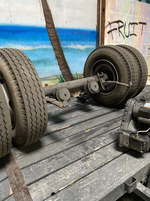 Axle. Semi truck tires for Sale in Tracy, CA