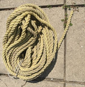 """Used polyprope pulling rope 3/4""""size 150ft. for Sale in Arlington Heights, IL"""