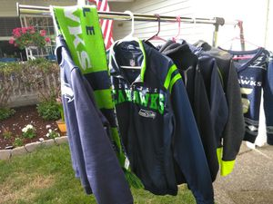 Seahawks sweat gear and nice clothes sz, 0-4 for Sale in Monroe, WA