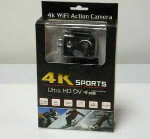 4K Sports Action Camera Water Proof Case WiFi Cycling AXTCAMKTBK Digital Camcorder for Sale in El Cajon, CA