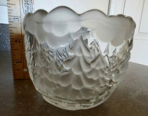 Mikasa Crystal SA532/594 Votive Winterland Xmas Christmas for Sale in Downers Grove, IL