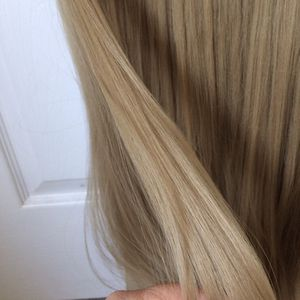 7 Pieces Hair Extensions With Clips In Blond for Sale in San Jose, CA