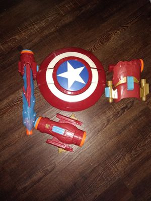 Boy's Toys: Captain America, Spider-Man, Halo, Minecraft for Sale in Lewisville, TX