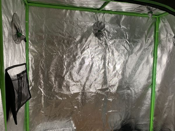 Vivosun Grow Tent, 2 MarsHydro 300w Leds, Carbon Filter, Vivosun 4inch speed controller, Fabric Pots, etc.
