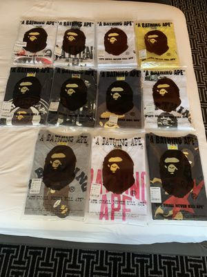 BAPE SHIRTS for Sale in Plano, TX