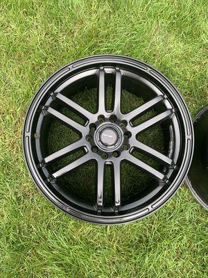 Drifz FX 18x8 Black Rims for Sale in Waterford Township, MI
