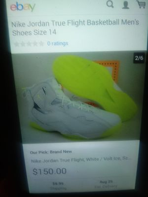 Jordan's retro Volt Ice. size 8 $70 or best offer. Price reflects no 📦 for Sale in Detroit, MI