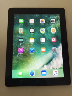 ✅ EXCELLENT Apple iPad (4th generation) 🕹 16GB Wi-Fi + Cellular 📌 A1460 🏆 Space Gray Black // 🎁 GREAT for Roblox + Minecraft + Fortnite + Distance Le for Sale in Schaumburg, IL