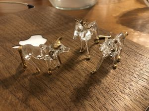 Antique Glass Animal Trinkets (3) for Sale in Los Angeles, CA