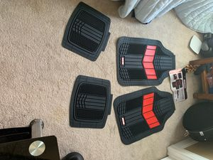 Motor Trend 2 tone all weather rubber mats for Sale in Johnson City, TN