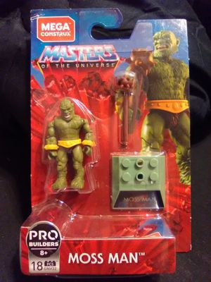 Mega Construx Masters Of The Universe Moss Man for Sale in Huntsville, AL