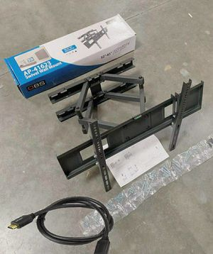 "New Universal Wall TV Mount Fits 32"" to 65"" TV Sizes Swivel Full Motion Tilt Heavy Duty Dual Arms for Sale in Montebello, CA"