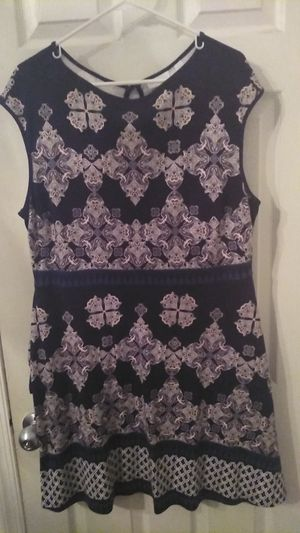 Brand New NyCo Teal Navy Summer Dress XXL (18/20) for Sale in Philadelphia, PA