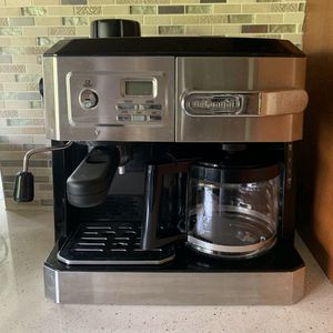Expresso machine bar cappuccino and coffee maker stainless for Sale in North Miami, FL