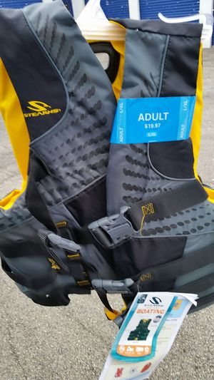 New STEARNS ADULT L-XL LIFE JACKET for Sale in Oak Forest, IL
