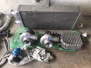 Greddy twin turbo kit g35/350z for Sale in Jurupa Valley, CA