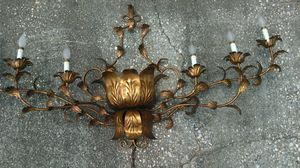 Italian tole wall candelabra for Sale in Douglasville, GA