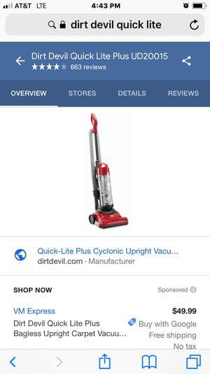 Brand new dirt devil vacuum for Sale in Florissant, MO