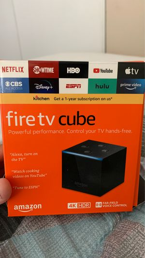 Fire tv cube for Sale in Long Beach, CA