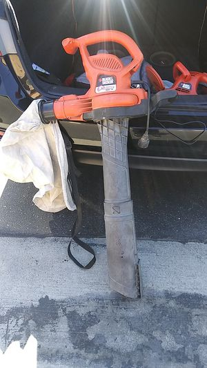 Black and decker leaf hog blower ?(best offer) for Sale in Fontana, CA