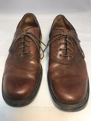 Johnston & Murphy leather dress shoes 10.5 for Sale in Orondo, WA