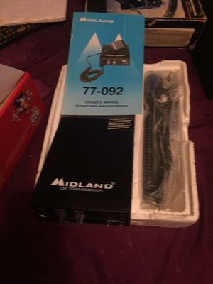 Midland 40 channel CB transceiver for Sale in Shelton, CT