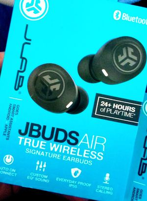 JLAB JBUDSair TRUE WIRELESS SIGNATURE EARBUDS for Sale in Newport Beach, CA