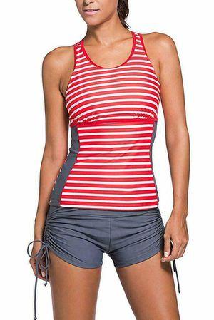 HOTAPEI Women's Racerback Tankini Set Boyshort Two Piece Swimsuit , XL 14-16 for Sale for sale  Las Vegas, NV