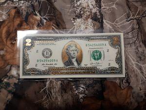 2 dollar bill for Sale in Elmira, NY