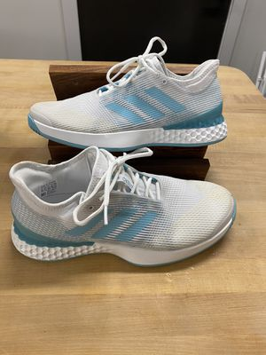 Adidas ubersonic parley size 10 men's tennis shoes for Sale in Denver, CO