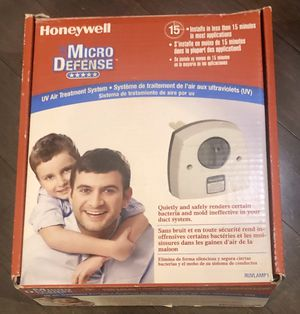 Honeywell Micro Defense UV Air Treatment System/ cleaner/ purifier for Sale in Los Angeles, CA