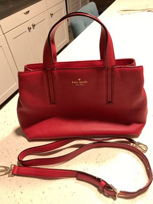 Kate Spade - Grey Street Cate Medium Satchel Handbag ~ Dynasty Red for Sale in Orange, CA