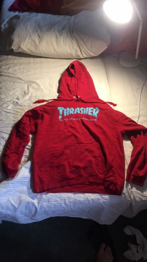 Red Thrasher Hoodie for Sale in Chevy Chase, MD