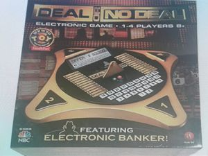 Deal or no deal electronic board game. for Sale in Roswell, GA