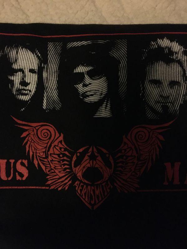 Aerosmith Official concert t-shirt