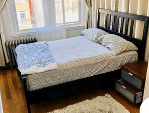 Full Size Bed Frame Mattress for Sale in Weehawken, NJ