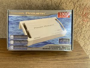 Power acoustik marine amplifier for Sale in Modesto, CA