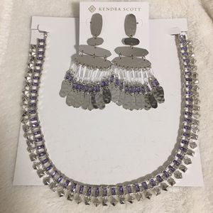 Kendra Scott necklace and earring set for Sale in Chino Hills, CA