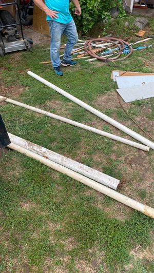 Some PVC pipe and a downspout for Sale in Adrian, MI