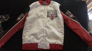 Medium Chicago Bulls bomber jacket for Sale in Greenville, MS