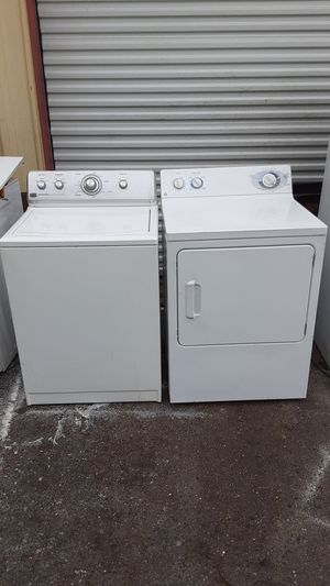 Maytag Super Capacity top load washer GE large-capacity front load dryer dryer for Sale in Orlando, FL